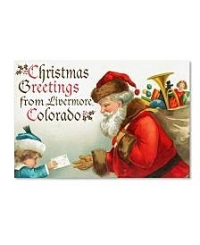 "Lantern Press 'Christmas 5' Canvas Art - 32"" x 2"" x 22"""