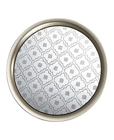 Society Chic Glass and Metal Tray
