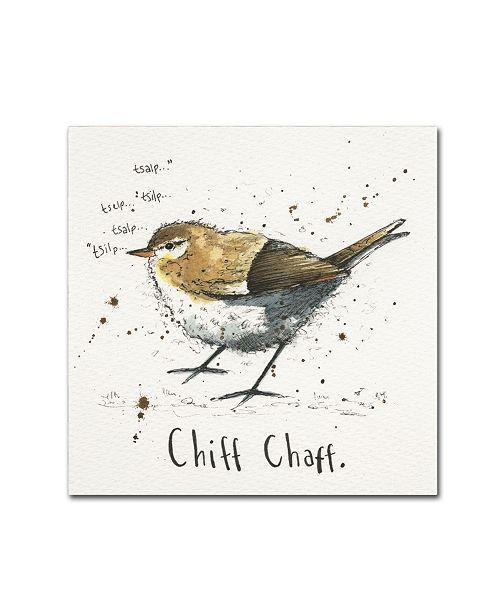 "Trademark Global Michelle Campbell 'Chiffchaff' Canvas Art - 14"" x 14"" x 2"""