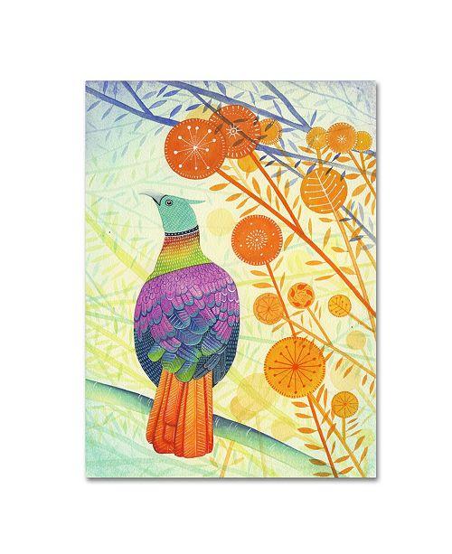 "Trademark Global Michelle Campbell 'Pheasant' Canvas Art - 24"" x 18"" x 2"""