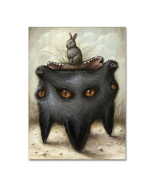 "Trademark Global Jason Limon 'Perilous Hunch' Canvas Art - 47"" x 35"" x 2"""