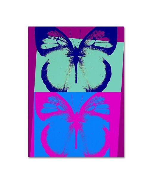 "Trademark Global Mindy Sommers 'Pop Morphosis' Canvas Art - 47"" x 35"" x 2"""