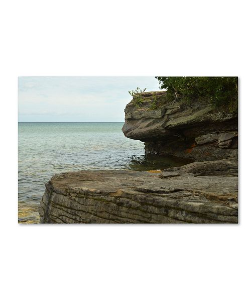 "Trademark Global Tom Kelly 'Lakes 10' Canvas Art - 32"" x 22"" x 2"""