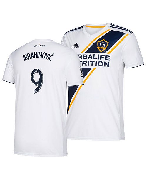 super popular c97ec 06ff5 adidas Women's Zlatan Ibrahimovic LA Galaxy Primary Replica ...