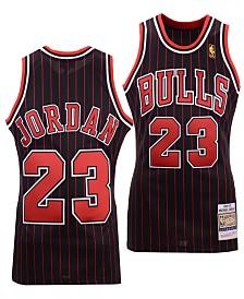 27a809c59 Mitchell   Ness Men s Michael Jordan Chicago Bulls Authentic Jersey