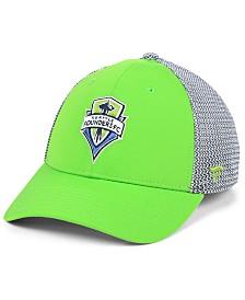 Authentic MLS Headwear Seattle Sounders FC Versalux Speed Flex Stretch Fitted Cap