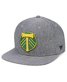 Authentic MLS Headwear Portland Timbers Chambray Snapback Cap