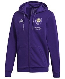 adidas Men's Orlando City SC Hooded Travel Jacket