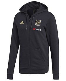 adidas Men's Los Angeles Football Club Hooded Travel Jacket