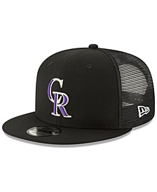 Colorado Rockies All Day Mesh Back 9FIFTY Cap