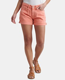 Lucky Brand Cotton Boyfriend Shorts
