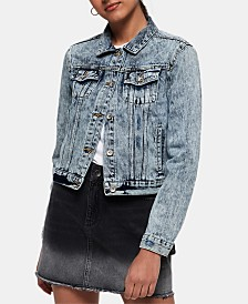 Superdry Cotton Denim Jacket