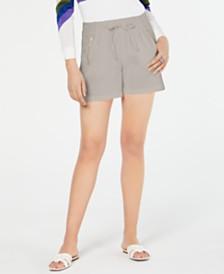 I.N.C. Zipper-Pocket Shorts, Created for Macy's