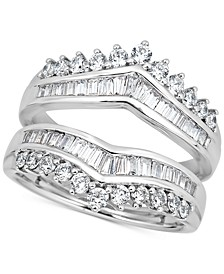 Diamond Enhancer Guard Ring (1-1/5 ct. t.w.) in 14k White Gold