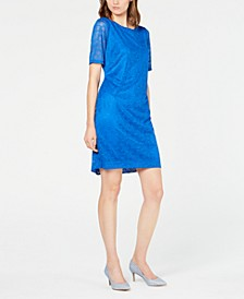 Petite Lace Sheath Dress, Created for Macy's