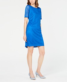 Alfani Petite Lace Sheath Dress, Created for Macy's