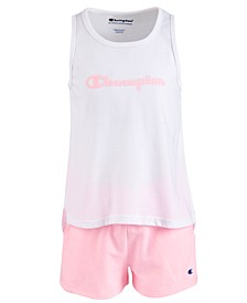 Toddler Girls 2-Pc. Graphic-Print Tank Top & Shorts Set