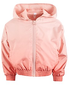 Ideology Little Girls Hooded Windbreaker, Created for Macy's
