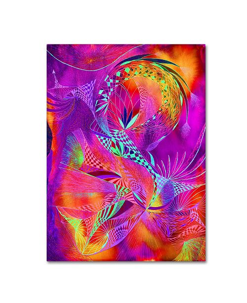 "Trademark Global MusicDreamerArt 'Heat of the Moment' Canvas Art - 19"" x 14"" x 2"""