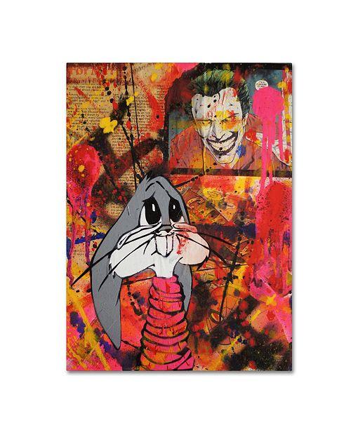 "Trademark Global Sr.LaSso 'Oh Bugs!!' Canvas Art - 32"" x 24"" x 2"""