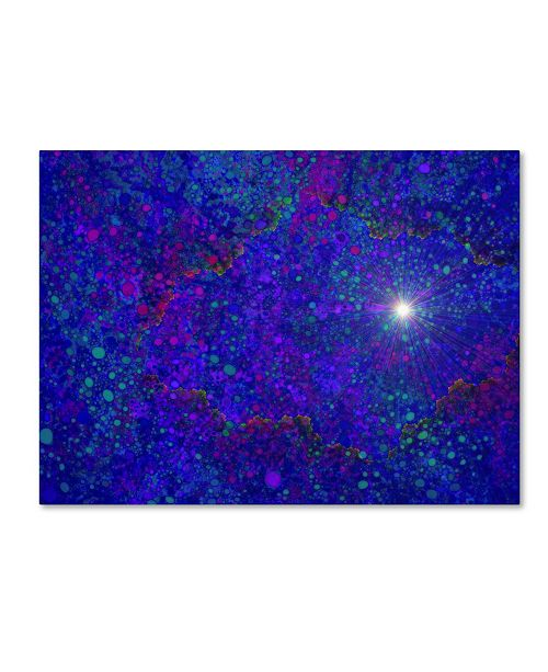 """Trademark Global MusicDreamerArt 'Burning a Hole in Spacetime' Canvas Art - 32"""" x 24"""" x 2"""""""