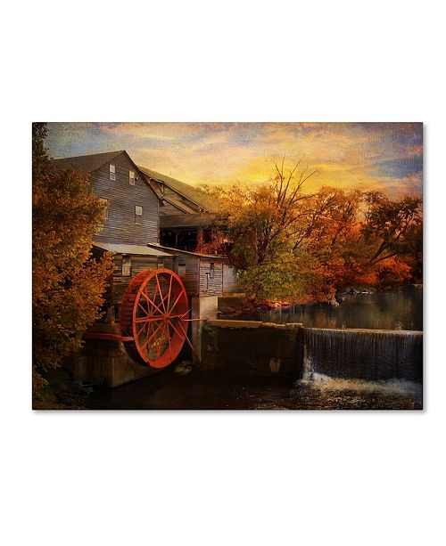 "Trademark Global Jai Johnson 'The Old Mill' Canvas Art - 32"" x 24"" x 2"""