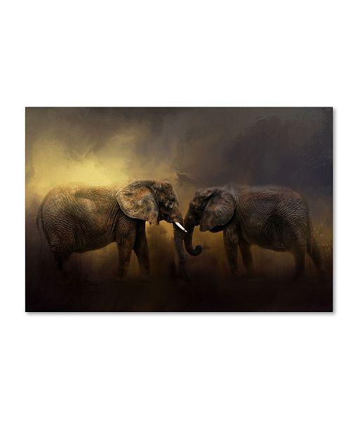 "Trademark Global Jai Johnson 'Together Through The Storms' Canvas Art - 32"" x 22"" x 2"""