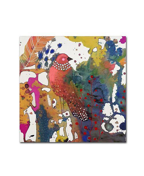 "Trademark Global Sylvie Demers 'El Rey' Canvas Art - 24"" x 24"" x 2"""