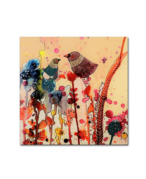 "Trademark Global Sylvie Demers 'Mama' Canvas Art - 24"" x 24"" x 2"""