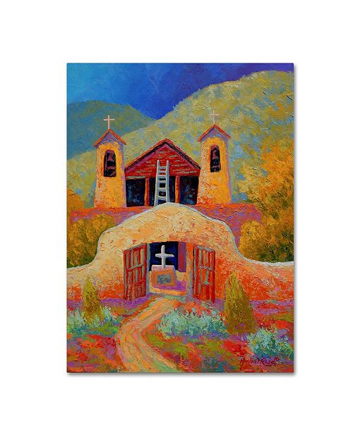 "Trademark Global Marion Rose 'Chimayo 1' Canvas Art - 32"" x 24"" x 2"""