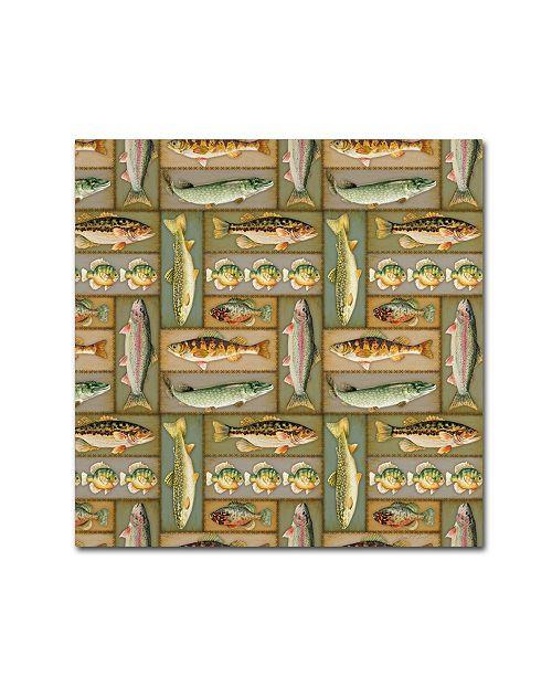 "Trademark Global Jean Plout 'Wilderness Lodge 1' Canvas Art - 24"" x 24"" x 2"""