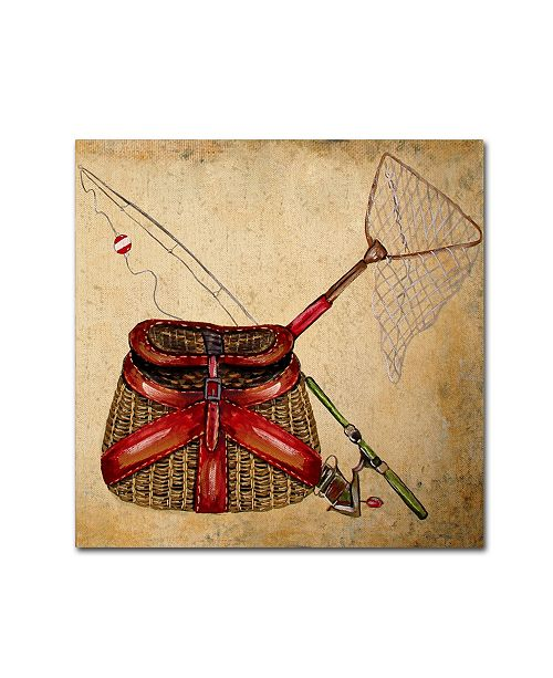 "Trademark Global Jean Plout 'Wilderness Lodge 4' Canvas Art - 18"" x 18"" x 2"""