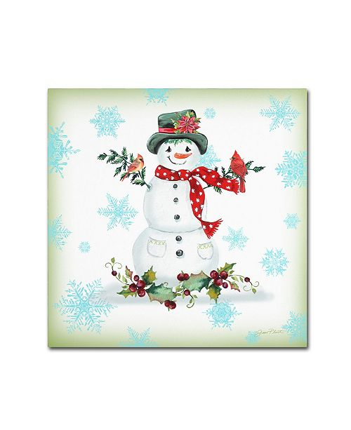 """Trademark Global Jean Plout 'Holiday Celebration 7' Canvas Art - 24"""" x 24"""" x 2"""""""