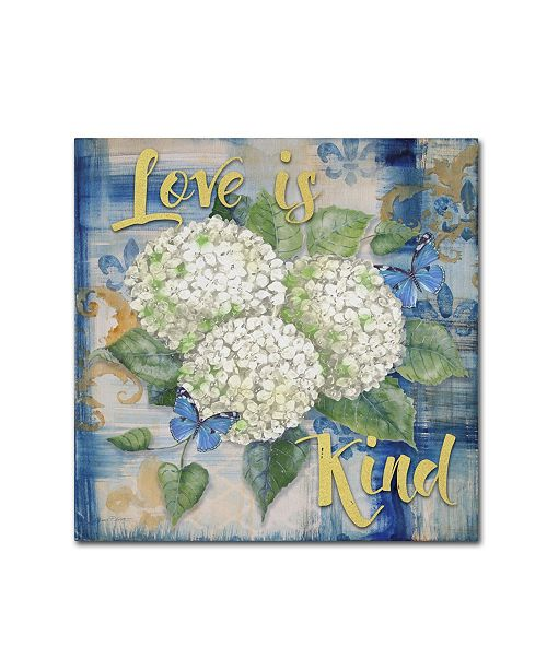 "Trademark Global Jean Plout 'Love Is 1' Canvas Art - 24"" x 24"" x 2"""