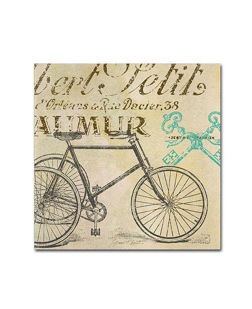 "Trademark Global Jean Plout 'Paris 1' Canvas Art - 14"" x 14"" x 2"""