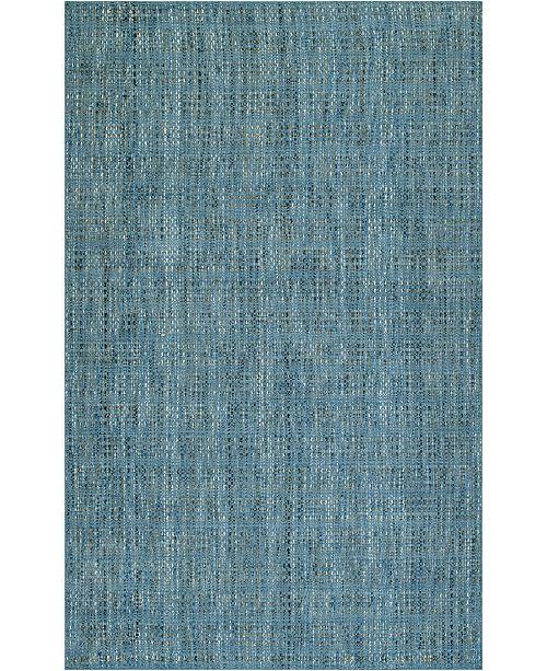 D Style Cozy Weave Cwv100 Denim 8' x 10' Area Rug