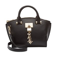 Deals on DKNY Elissa Small Leather Crossbody