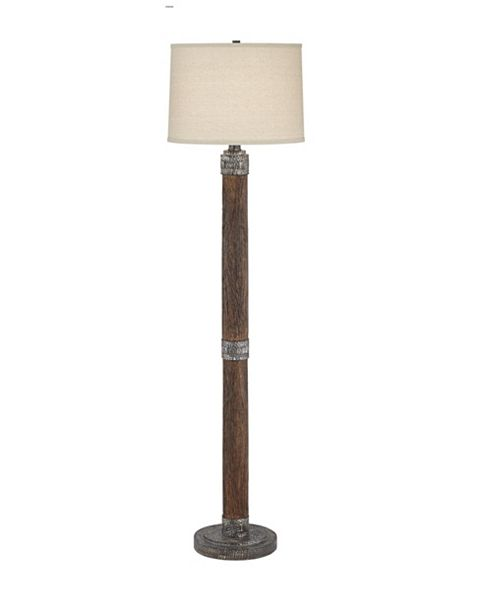 Pacific Coast Cabin and Lodge Floor Lamp