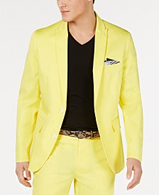 INC Men's Pop-Color Slim-Fit Blazer, Created for Macy's