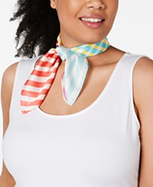 Echo Colorful Stripe Square Scarf