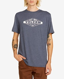 Volcom Men's Run Logo Graphic T-Shirt