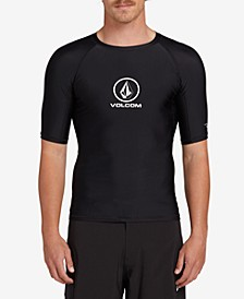 Men's Lido Solid Short Sleeved Rashguard
