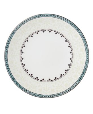 Global Tapestry Aquamarine Dinner Plate