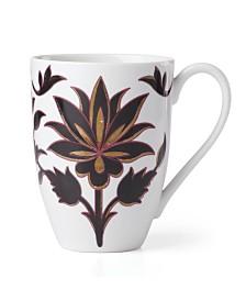 Lenox Global Tapestry Garnet Mug Garnet