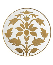 Lenox Global Tapestry Gold Lotus Accent/Salad Plate,