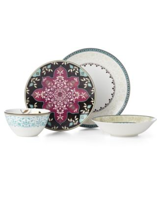 Global Tapestry Aquamarine 4 Piece Place Setting