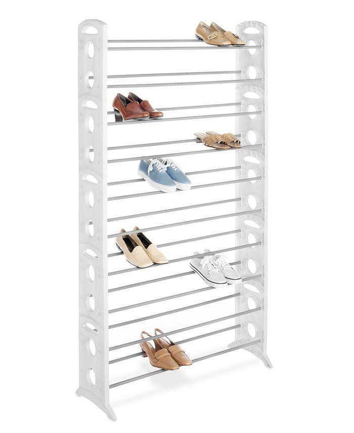 Whitmor - 50 Pair Floor Shoe Tower