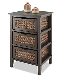 Whitmor Bahama 3-Drawer Storage Organizer