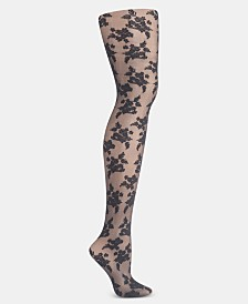 Hanes Floral Illusion Tights
