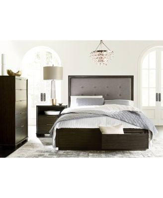 Morgan Storage Bedroom Furniture, 3-Pc. Set (California King Bed, Nightstand & Chest), Created for Macy's